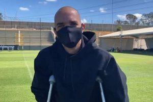 Tardelli comemora início da fisioterapia no Atlético