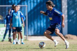 Cruzeiro: Moreno treina e pode até estrear na Série B