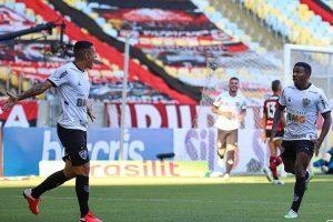 Atlético vence o Flamengo na estreia no Brasileiro