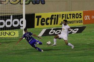Cruzeiro perde pênalti e empata com o Confiança