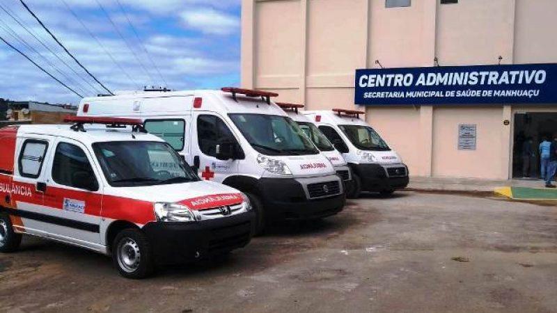 Manhuaçu: Veículos UTI adquiridos para a saúde