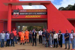 Boston City lança obras do Complexo Esportivo em Manhuaçu