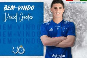 Cruzeiro apresenta mais um reforço: Daniel Guedes