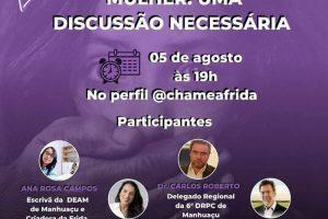 Live discute violência contra mulher; nesta quarta, 19h00