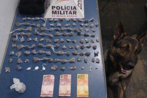 Plantão PM: Drogas e espingarda apreendidas em Manhuaçu e região