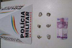 Plantão PM: Drogas apreendidas e prisão em Manhuaçu