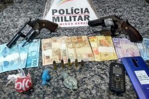 Plantão PM: Homicídio no bairro Santa Terezinha; Armas apreendidas e prisão Matipó