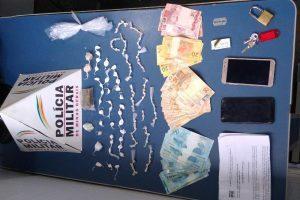 Plantão PM: Drogas e arma apreendidas em Manhuaçu e em Caputira