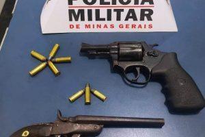 Plantão PM: Armas, drogas, apreensões e carro recuperado, confira…
