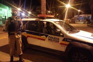 Manhuaçu: PM realiza patrulhamento preventivo durante a madrugada