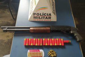 Plantão PM: Arma e munições apreendidas; Autores de roubo são procurados; Carro recuperado