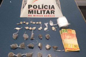 Plantão PM: Drogas e arma apreendidas pela polícia
