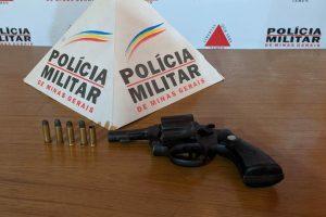 Plantão PM: Arma e motocicleta apreendidas; Autores de roubo procurados