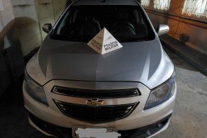Dois carros clonados apreendidos em Martins Soares