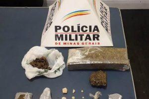Plantão PM: Drogas no São Francisco de Assis; Arma em Lajinha