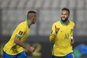 Brasil vence Peru com 3 gols de Neymar