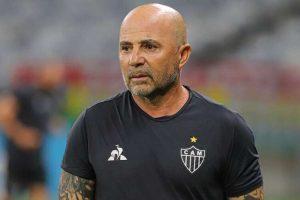 Atlético tem fase de queda no futebol comandado por Sampaoli