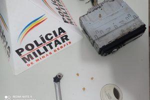 Plantão PM: Produto de furto recuperado e ação em Mutum