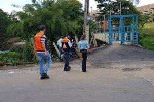 Defesa Civil faz visita técnica a pontes de Manhuaçu