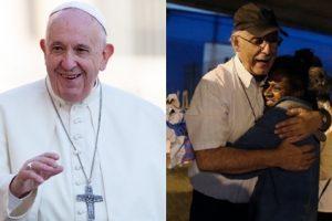 Papa liga para padre Lancellotti e destaca amor pela população de rua