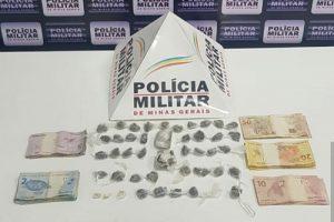 PM na região: Drogas apreendidas em Caratinga