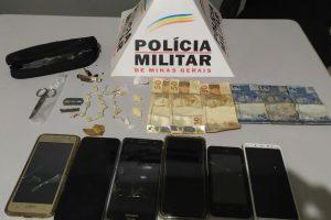 Plantão PM: Drogas e presos em Espera Feliz; Assaltantes procurados