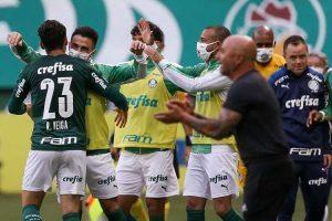 Palmeiras goleia o Atlético em São Paulo: 3 a 0