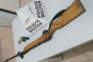 Região: Arma é apreendida e PM evita crime violento