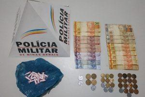 PM na região: Autores de tráfico de droga são presos