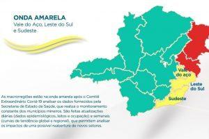 Minas Consciente: Macrorregião Leste do Sul volta para a Onda Amarela
