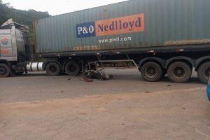 Manhuaçu: Policial Militar de Manhuaçu sofre grave acidente na BR 262