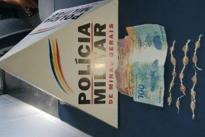 PM em Manhuaçu: Autor de furto é procurado; Drogas apreendidas no Bairro Santana