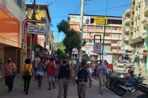 Black Friday com segurança reforçada pela PM em Manhuaçu