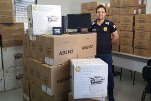6ª Regional da PC distribui equipamentos de informática para suas delegacias