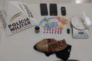 PM em Manhuaçu: Mais drogas apreendidas na cidade