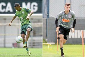 América e Corinthians se enfrentam nesta quarta-feira