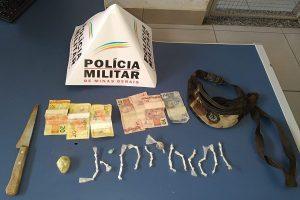 PM na região: Dinheiro e drogas apreendidos; Autores de roubo são procurados