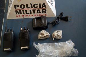 PM em Manhuaçu: Drogas são apreendidas no Bairro Bela Vista