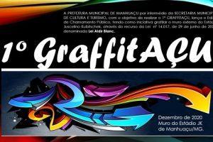 Abertas as inscrições para o 1º GRAFFITAÇU