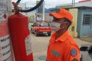 Bombeiros realizam Operação Alerta Vermelho em postos de combustíveis