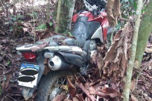Motocicleta furtada é recuperada em Manhuaçu