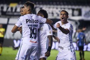 Libertadores: Santos despacha o Grêmio com goleada