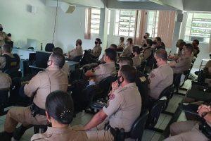 PM realiza treinamento em Manhuaçu