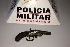 PM na região: Arma apreendida e roubo de 10 mil reais