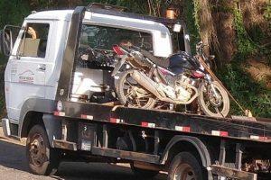 Motocicleta roubada é recuperada pela PM