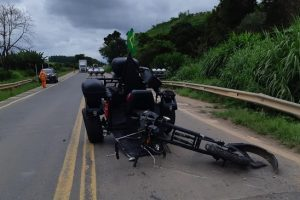 Matipó: Dois feridos em acidente grave na BR 262