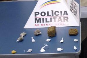 Mais drogas são apreendidas em Manhuaçu