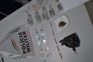 Drogas são apreendidas em Alto Jequitibá