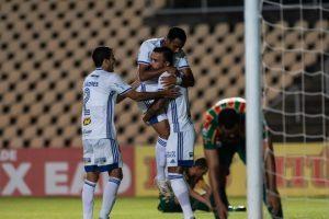 Cruzeiro derrota o Sampaio Corrêa no Maranhão