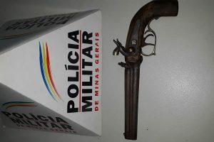 Drogas no Santa Luzia e arma de fogo no Centro